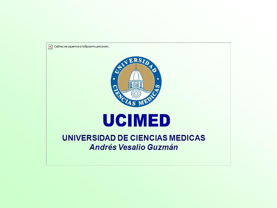 UNIVERSIDAD DE CIENCIAS MEDICAS
