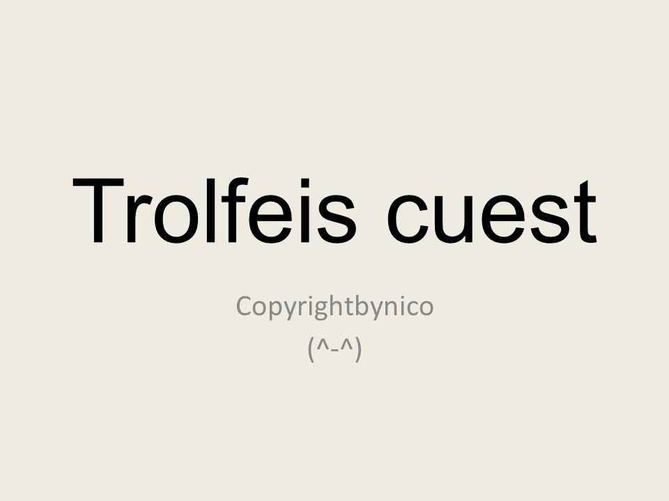Copyrightbynico (^-^)