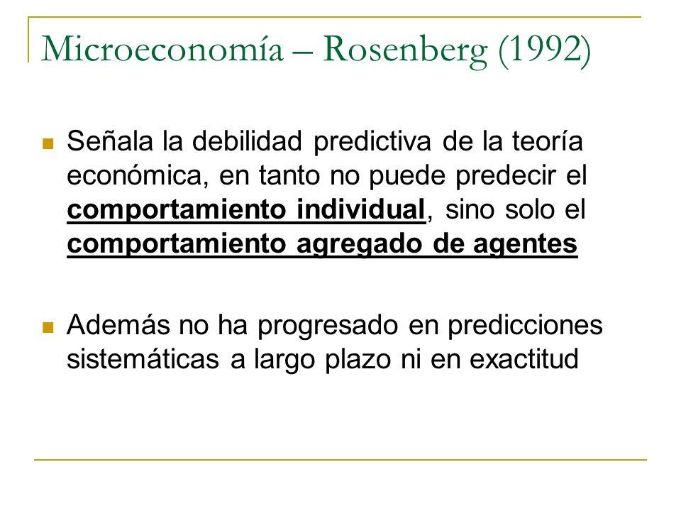 Microeconomía – Rosenberg (1992)