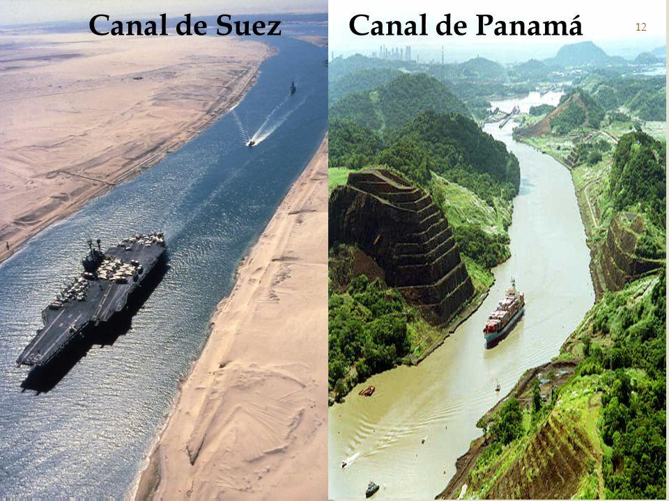 Canal de Suez Canal de Panamá