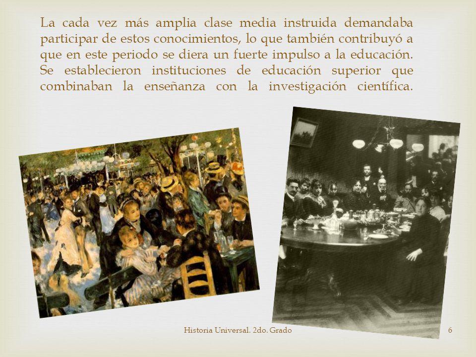 Historia Universal. 2do. Grado