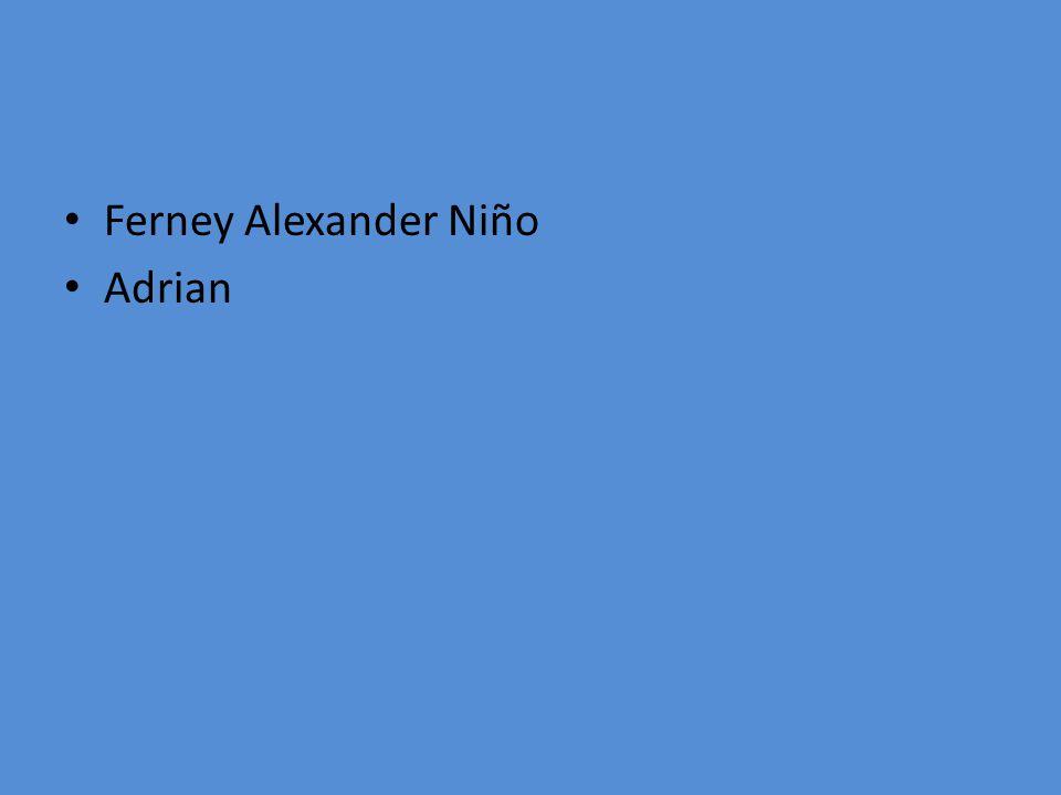 Ferney Alexander Niño Adrian