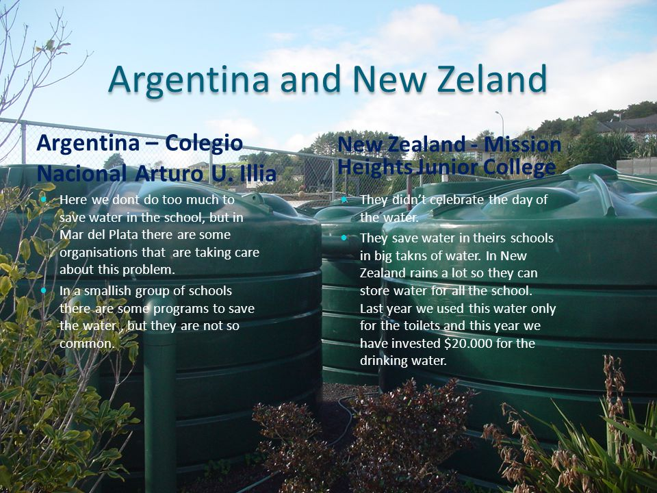 Argentina and New Zeland