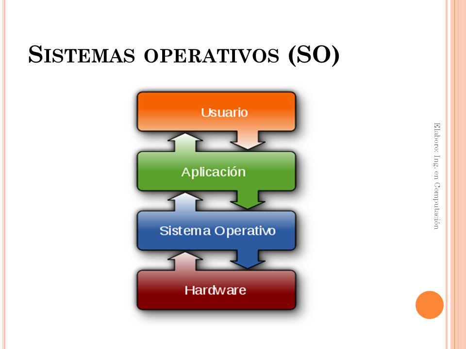 Sistemas operativos (SO)