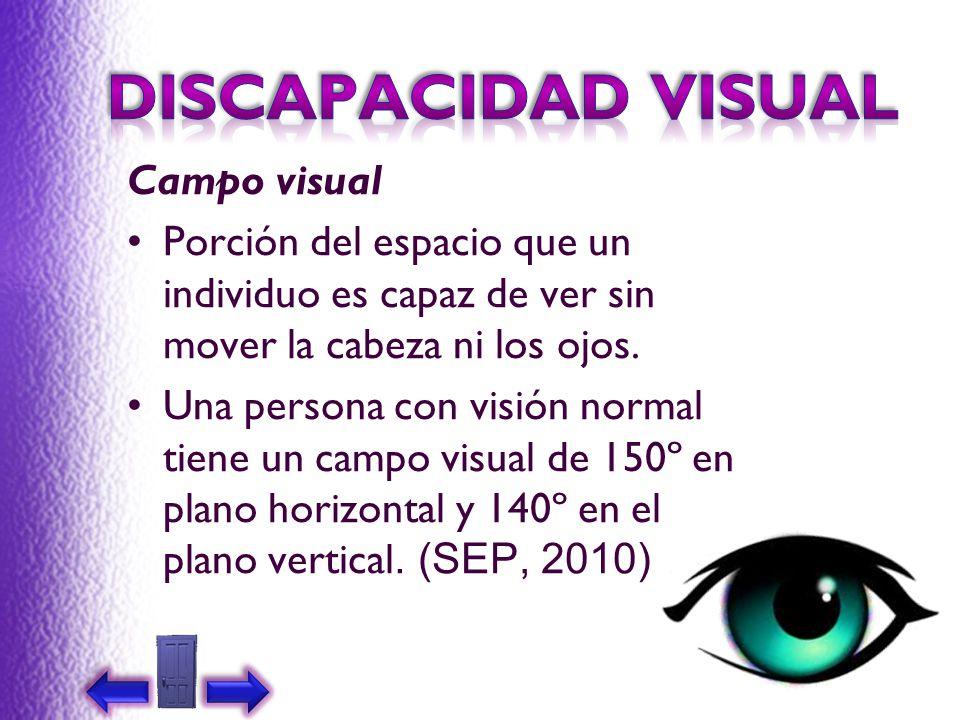 DISCAPACIDAD VISUAL Campo visual