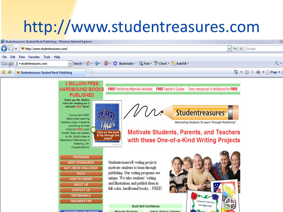 http://www.studentreasures.com
