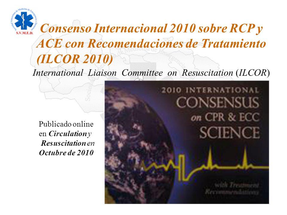 International Liaison Committee on Resuscitation (ILCOR)
