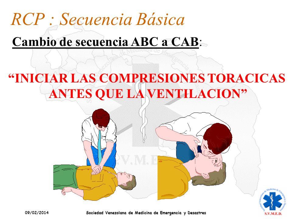 RCP : Secuencia Básica Cambio de secuencia ABC a CAB: