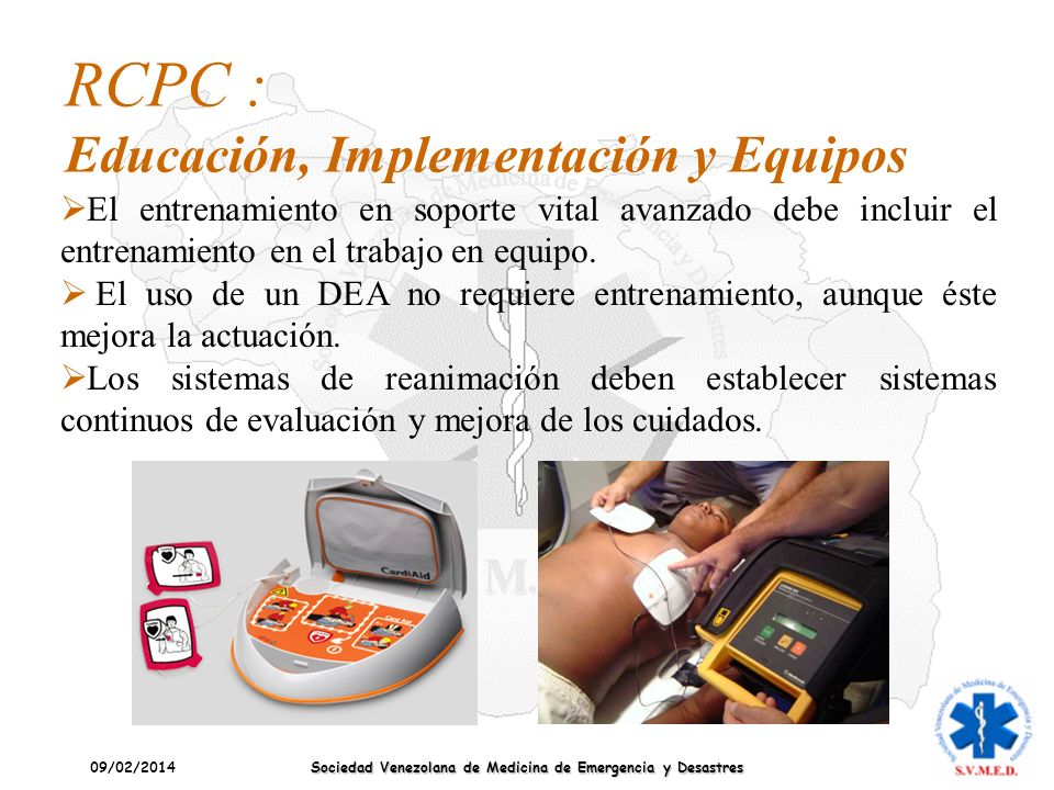 RCPC : Educación, Implementación y Equipos