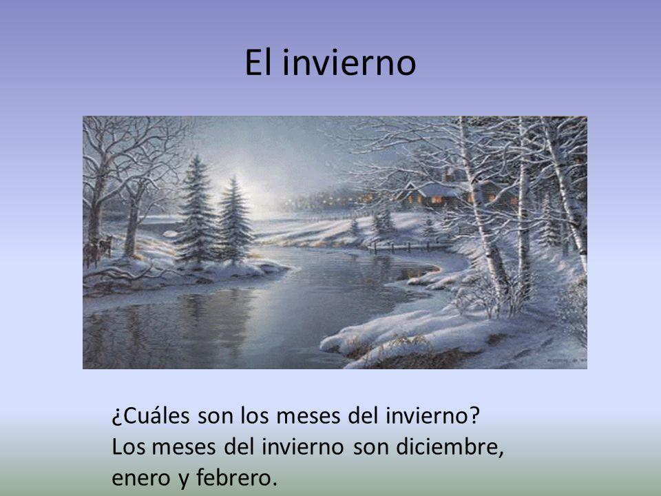 El invierno ¿Cuáles son los meses del invierno