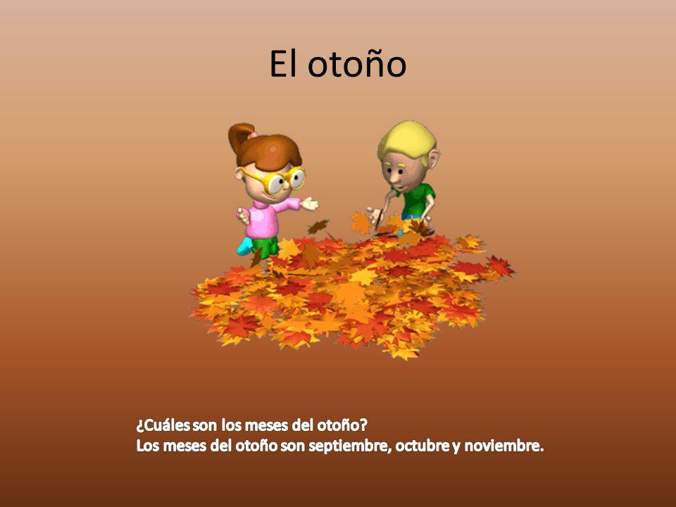 El otoño ¿Cuáles son los meses del otoño