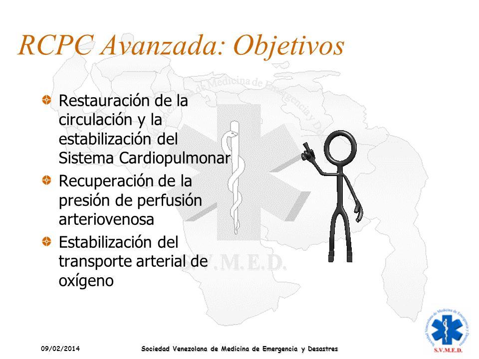 RCPC Avanzada: Objetivos