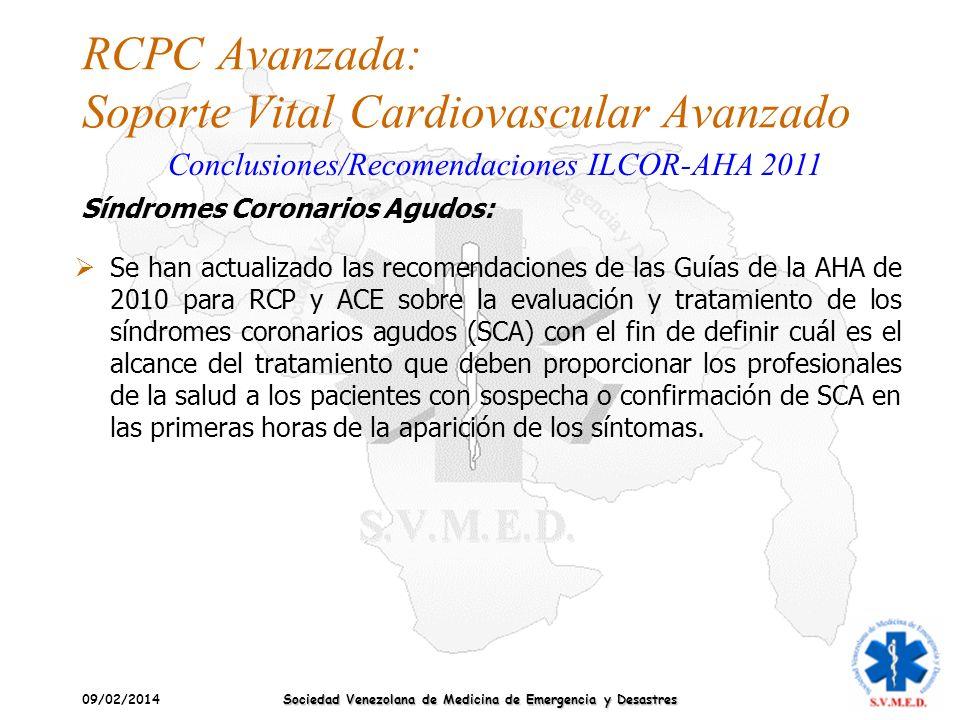 RCPC Avanzada: Soporte Vital Cardiovascular Avanzado