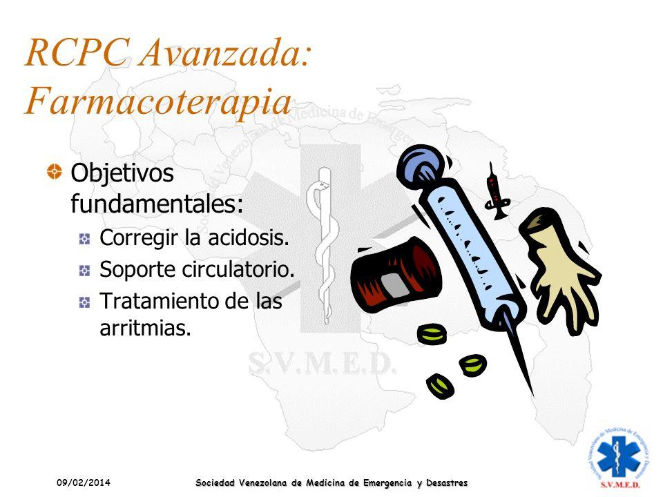 RCPC Avanzada: Farmacoterapia