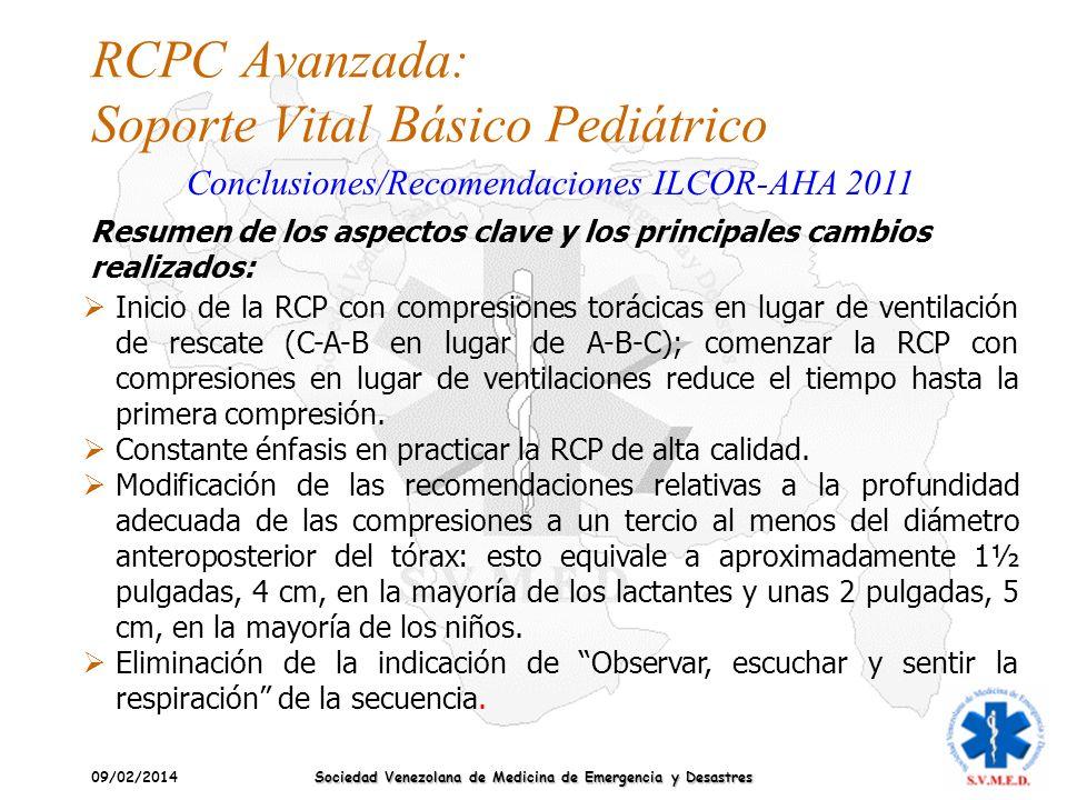 RCPC Avanzada: Soporte Vital Básico Pediátrico