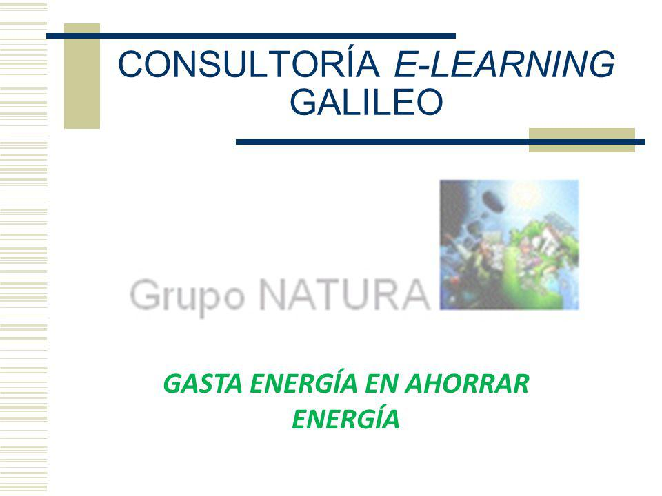 CONSULTORÍA E-LEARNING GALILEO
