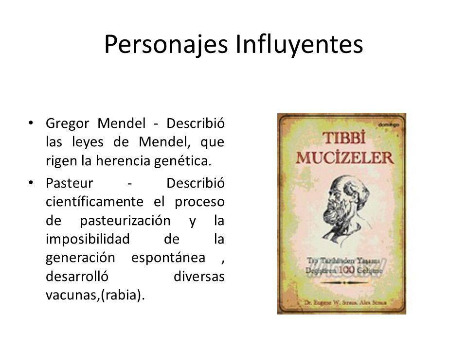 Personajes Influyentes