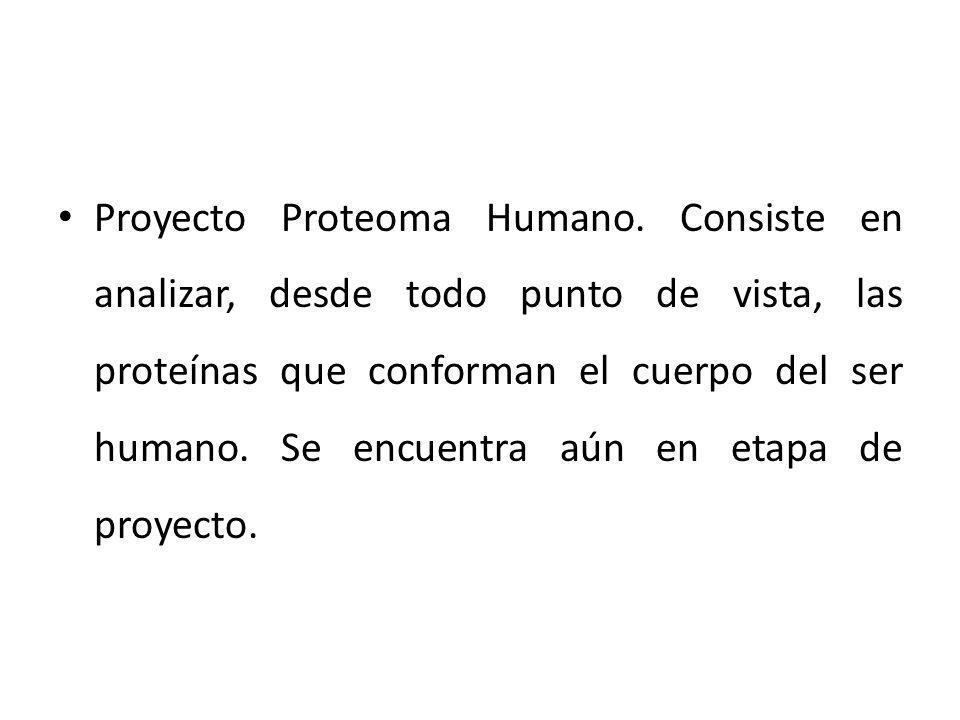 Proyecto Proteoma Humano