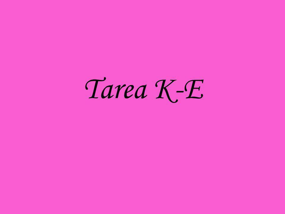 Tarea K-E