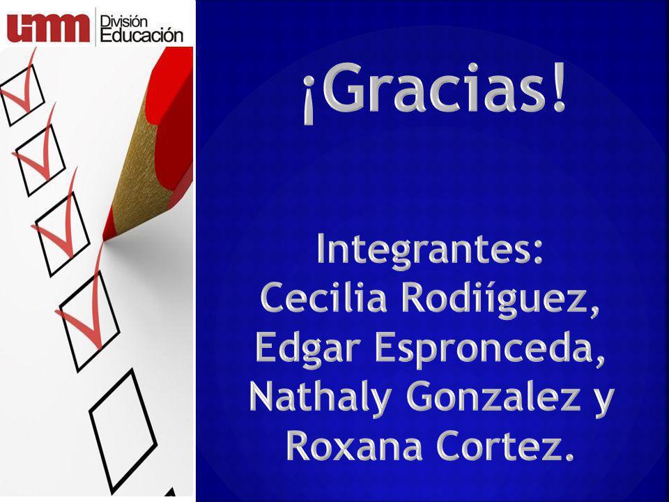 Cecilia Rodiíguez, Edgar Espronceda, Nathaly Gonzalez y Roxana Cortez.