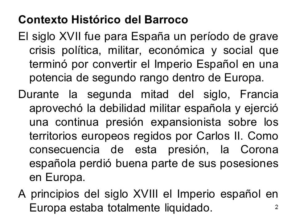 Contexto Histórico del Barroco
