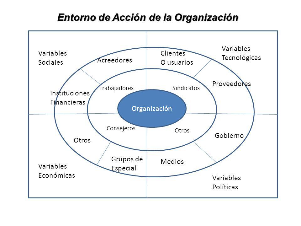 Entorno de Acción de la Organización