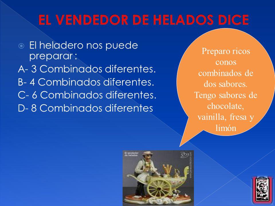 EL VENDEDOR DE HELADOS DICE