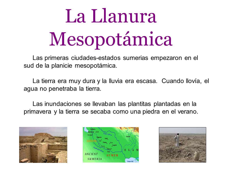 La Llanura Mesopotámica