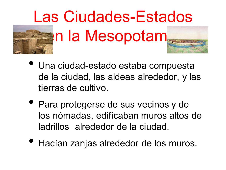 Las Ciudades-Estados en la Mesopotamia