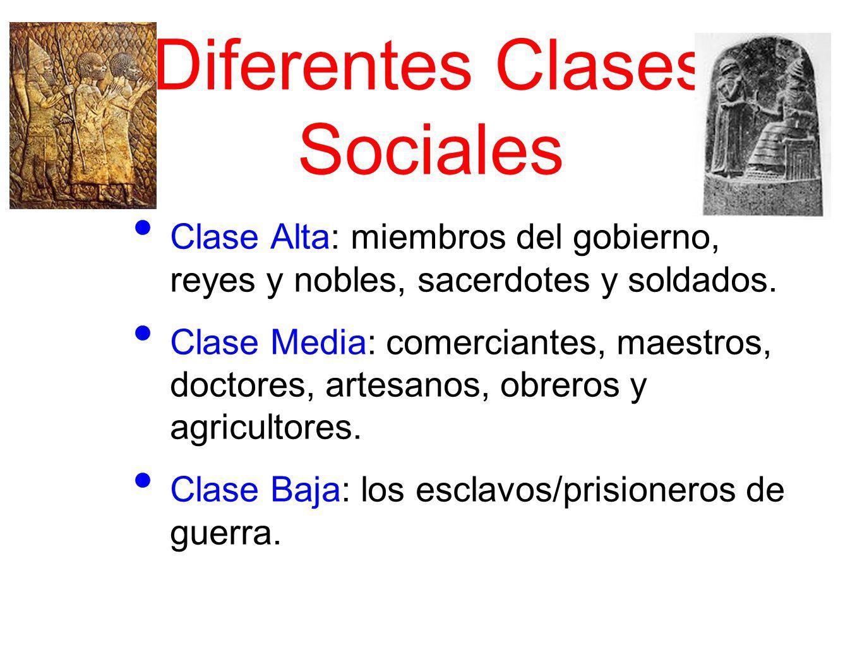 Diferentes Clases Sociales