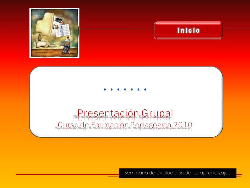 Curso de Formación Pedagógica 2010