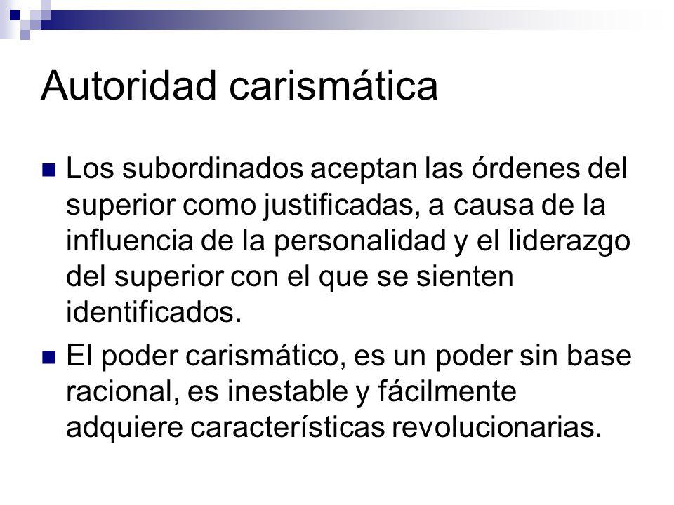 Autoridad carismática