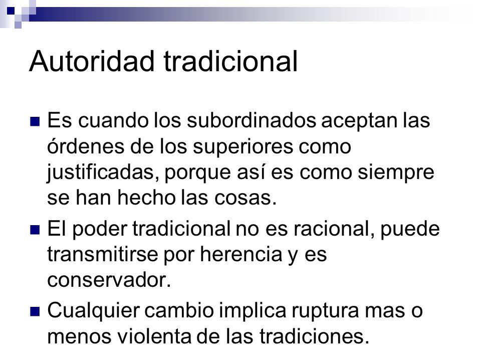 Autoridad tradicional