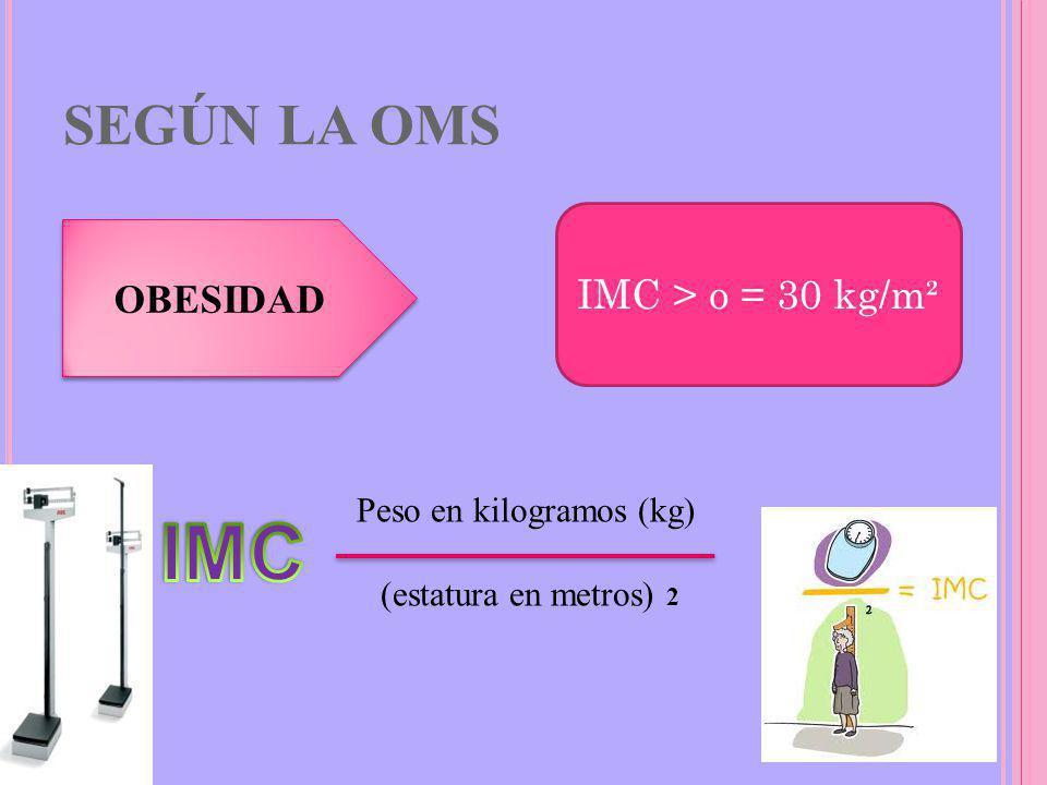 Peso en kilogramos (kg)