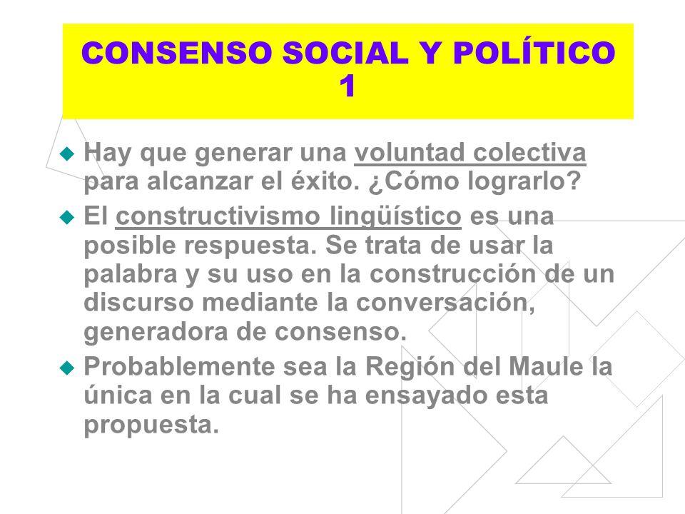 CONSENSO SOCIAL Y POLÍTICO 1