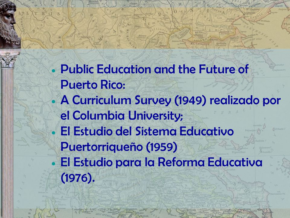 Public Education and the Future of Puerto Rico: