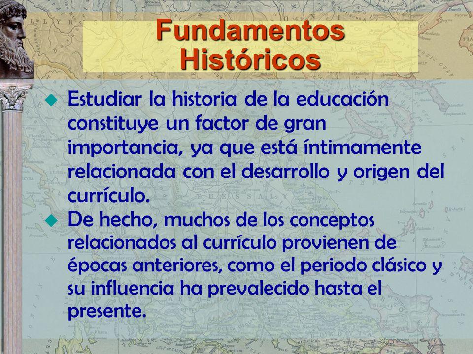 Fundamentos Históricos