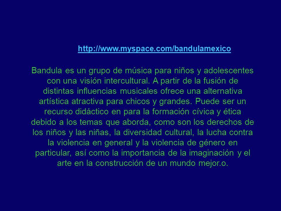 http://www.myspace.com/bandulamexico
