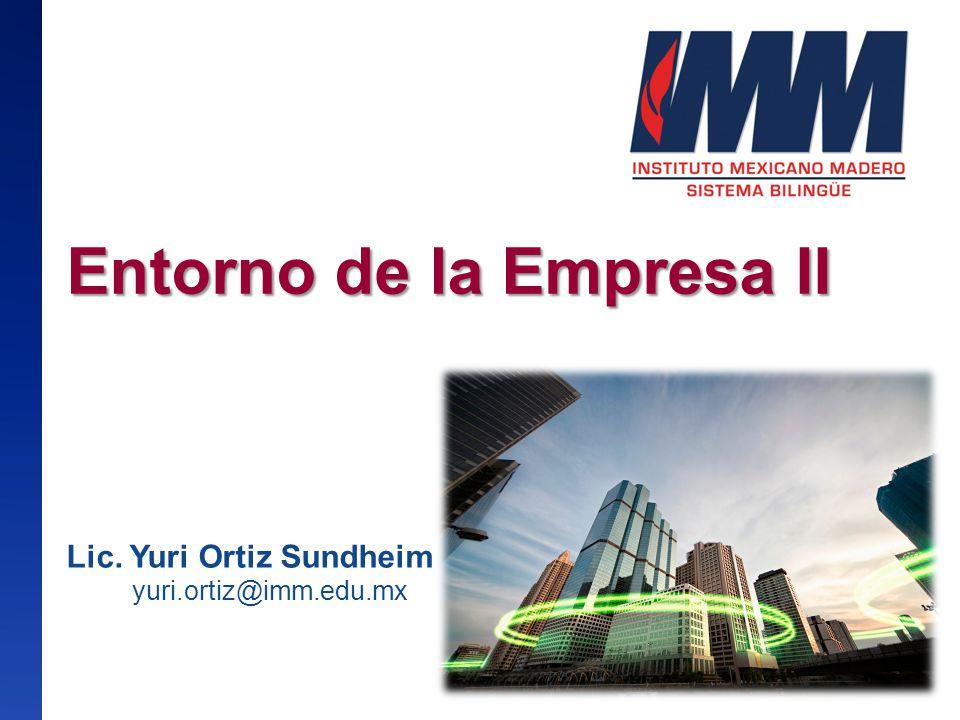 Entorno de la Empresa II