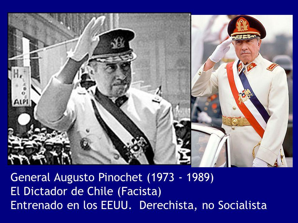 General Augusto Pinochet (1973 - 1989)