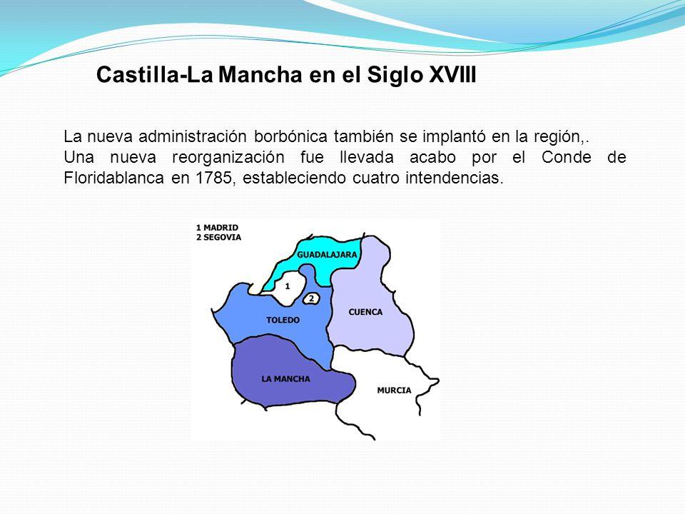 Castilla-La Mancha en el Siglo XVIII