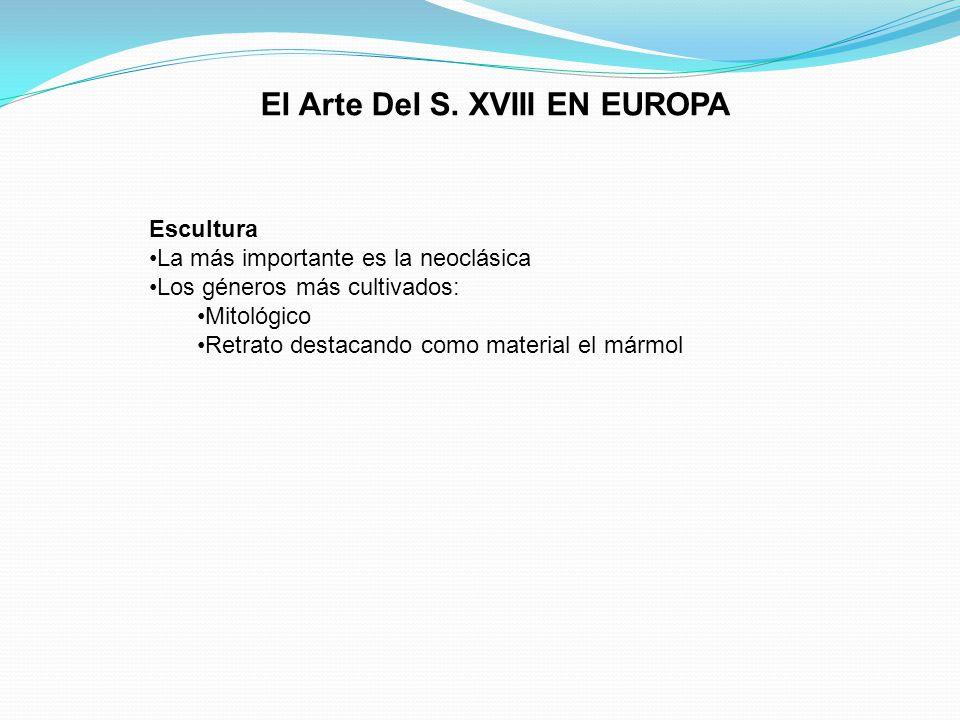 El Arte Del S. XVIII EN EUROPA