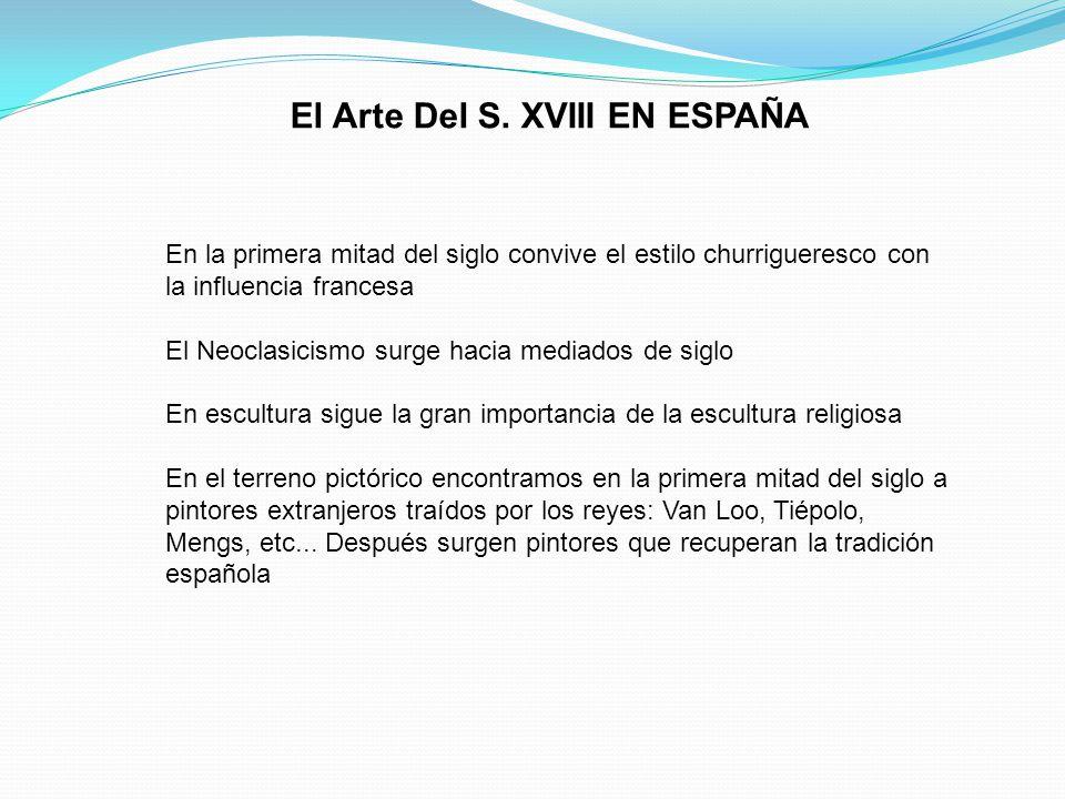 El Arte Del S. XVIII EN ESPAÑA