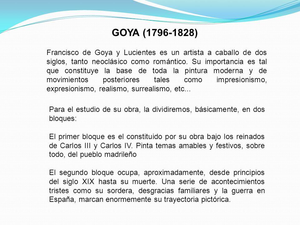 GOYA (1796-1828)