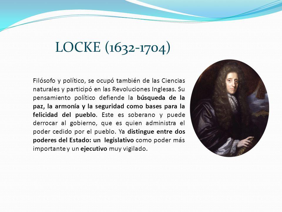 LOCKE (1632-1704)