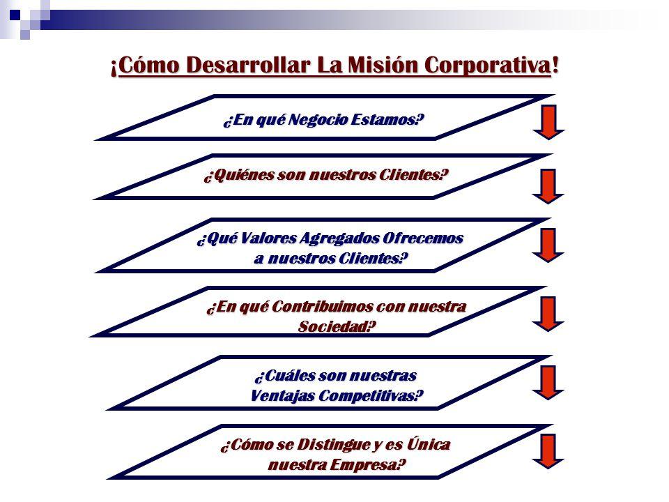 ¡Cómo Desarrollar La Misión Corporativa!