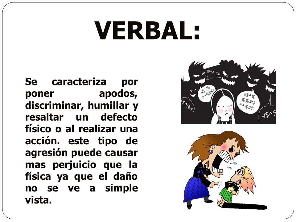 VERBAL: