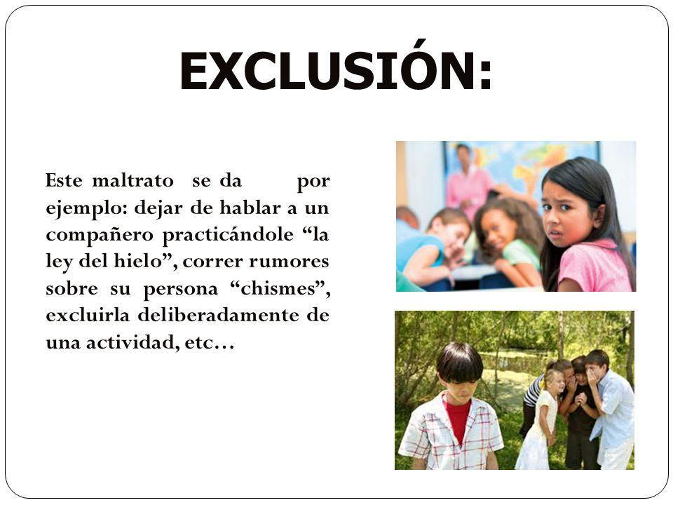 exclusión: