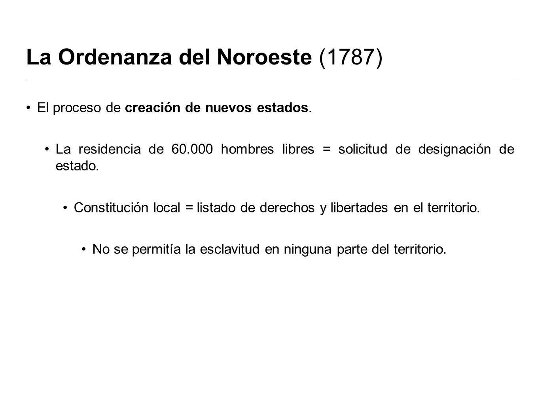 La Ordenanza del Noroeste (1787)