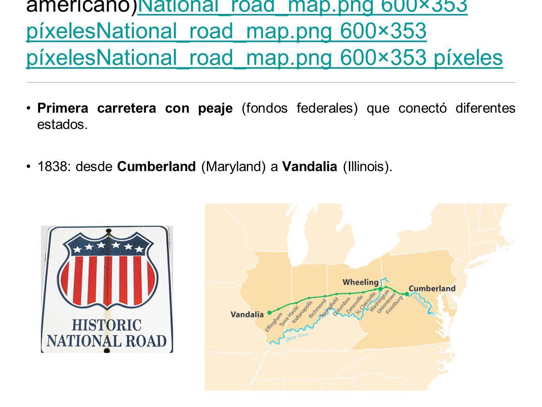 Ruta nacional (parte del Sistema americano)National_road_map